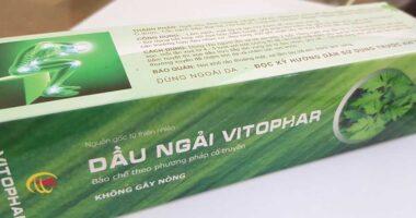 Địa chỉ bán tinh dầu ngải cứu Vitophar 100% chính hãng!