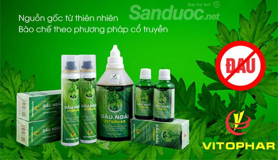 Tinh dầu ngải Vitophar là sản phẩm được đông y khuyên dùng!