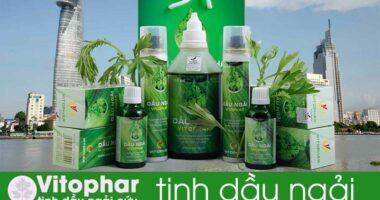 Ở Tp HCM thì mua tinh dầu ngải cứu Vitophar như thế nào?